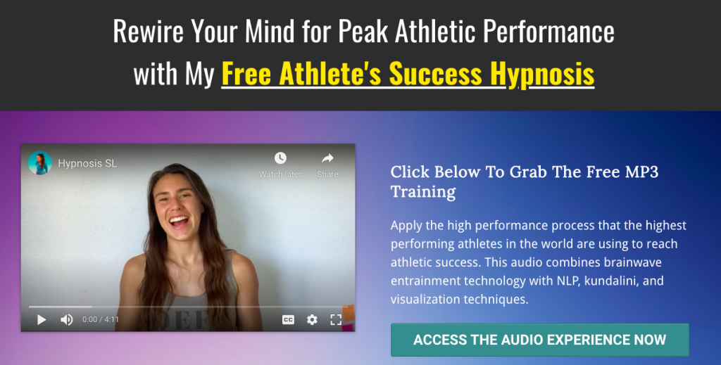 Flow State for Athletes, peak performance hypnosis