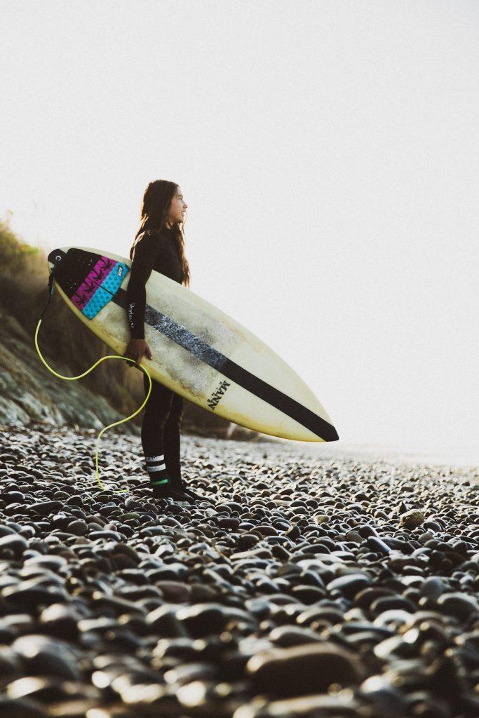 Gabi Surfing