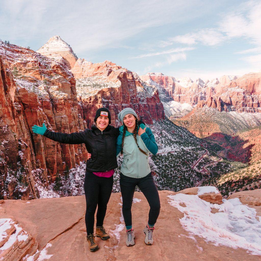 Gabi Robledo & Isabelle Robledo, Zion Utah