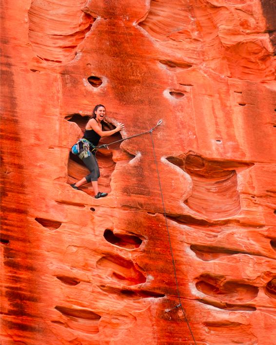 climbing training guide, Gabi Robledo, Rock Climbing Utah,