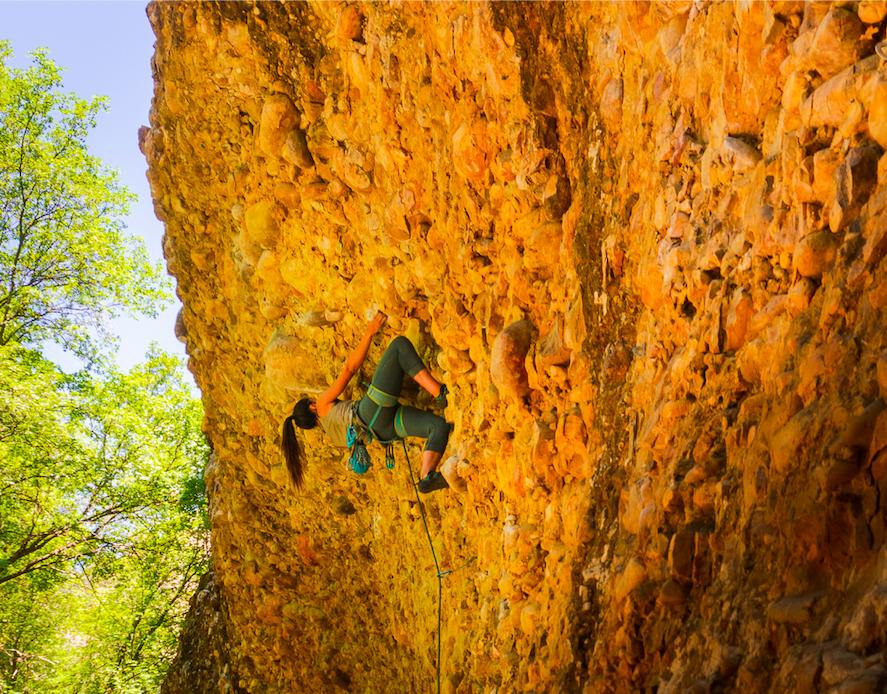 Rock Climbing in Maple Canyon