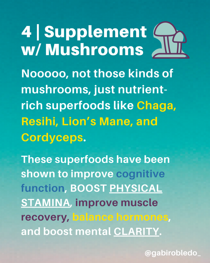 Supplements for Flow State