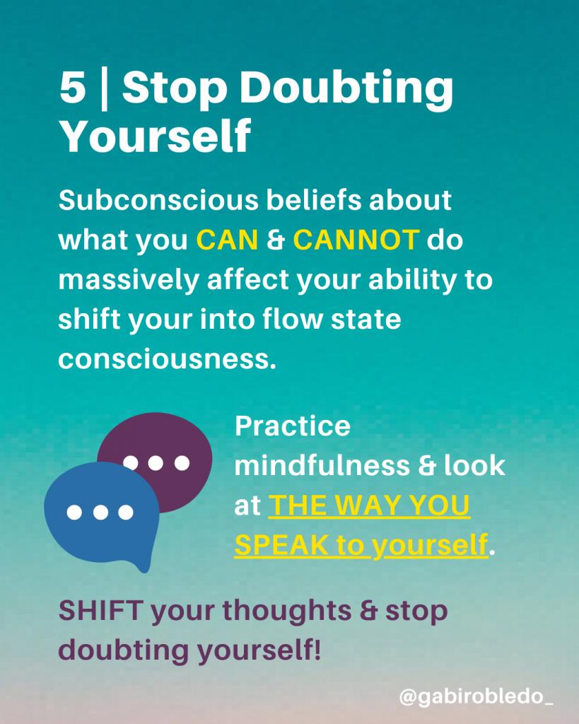 Subconscious Beliefs, Flow State Hacks